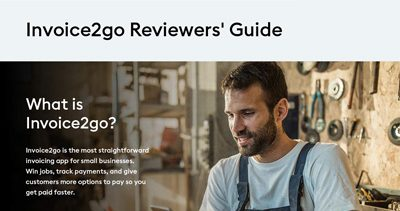 Invoice2go Reviewers' Guide 2020